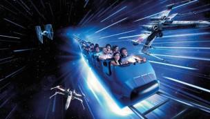 """""""Star Wars Hyperspace Mountain"""" in Disneyland Paris vor offizieller Eröffnung bei den """"STAR WARS Nights"""" zu erleben"""