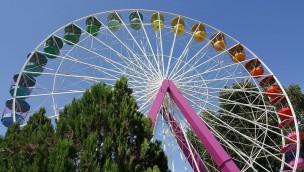 Luneur Park Riesenrad Panne
