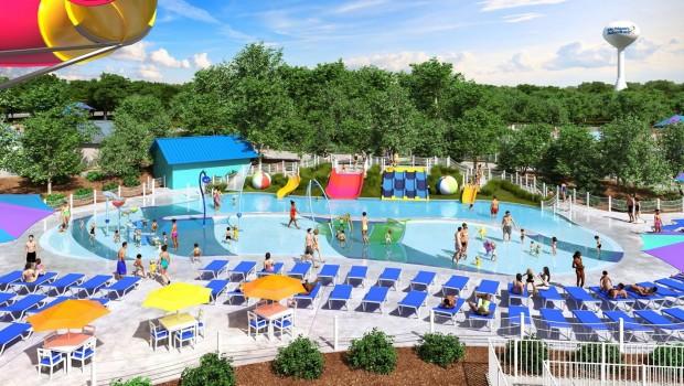 Michigan's Great Adventure Wasserpark Erweiterung 2017