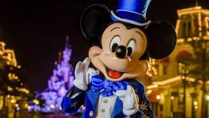 Mickey Mouse wirft sich in Schale: Festgewand zum 25. Geburtstag von Disneyland Paris 2017