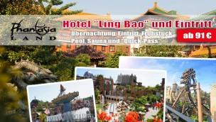 """Phantasialand mit Übernachtung im Hotel """"Ling Bao"""" erleben: jetzt ab 91€ p.P.!"""
