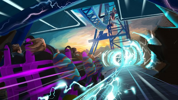 SeaWorld San Diego Electric Eel Launch Artwork
