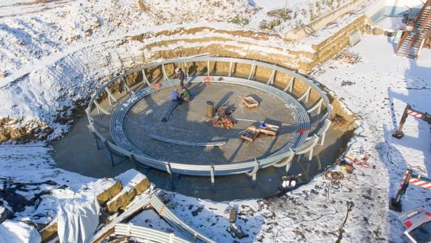 Seeräubers Kanonenritt - Eifelpark 2017 - Baustelle Luftaufnahme