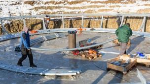 Seeräubers Kanonenritt - Eifelpark 2017 - Baustellebild 1