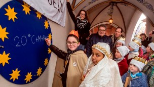 Europa-Park empfing 2017 rund 100 Sternsinger aus Deutschland, Frankreich und der Schweiz