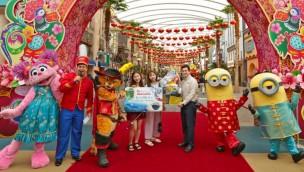 Universal Studios Singapore begrüßen 25-millionsten Besucher