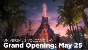 Eröffnungsdatum der Volcano Bay