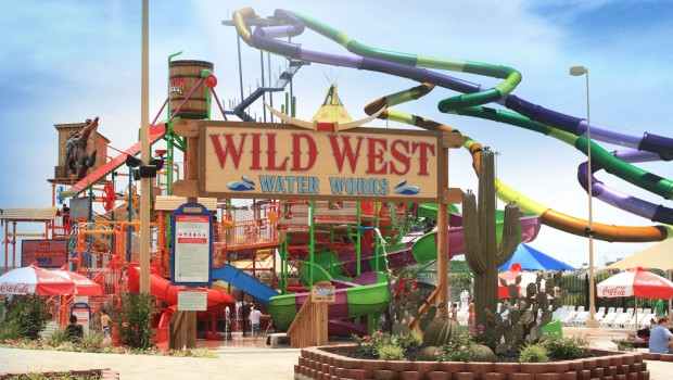 Gully Washer 2017 neu in Frontier City Wild West Water Works
