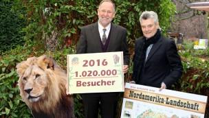 Zoo Osnabrück zieht Bilanz: 2016 über eine Million Besucher
