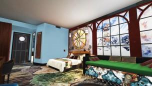 Alton Towers Antarktis Zimmer Artwork Zimmer