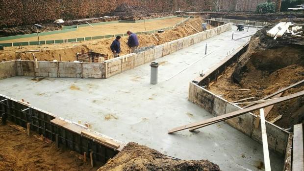 Avonturenpark Hellendoorn - Draken Nest Baustelle im Februar 2017