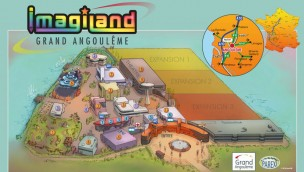 Comic Themenpark Imagiland  Angoulême