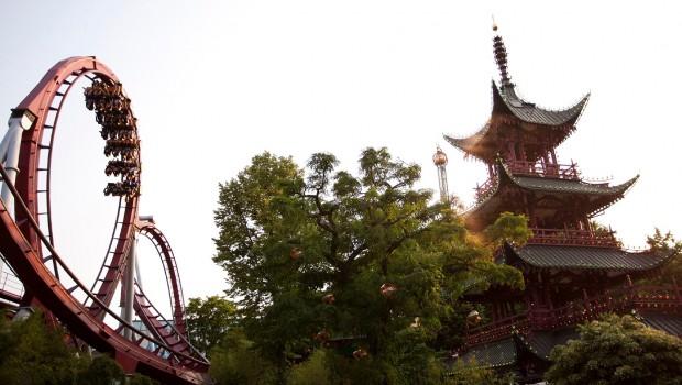 Daemonen - Tivoli Gardens Kopenhagen - China Thematisierung