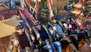Daemonen Tivoli Gardens Kopenhagen Virtual-Reality-Coaster