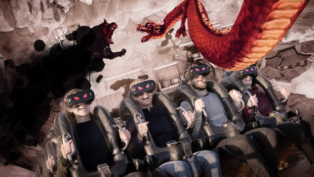 Daemonen in Tivoli Gardens - VR Coaster Artwork