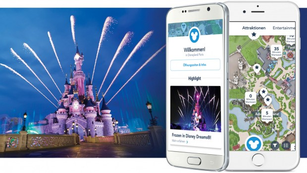 Disneyland Paris App auf Deutsch