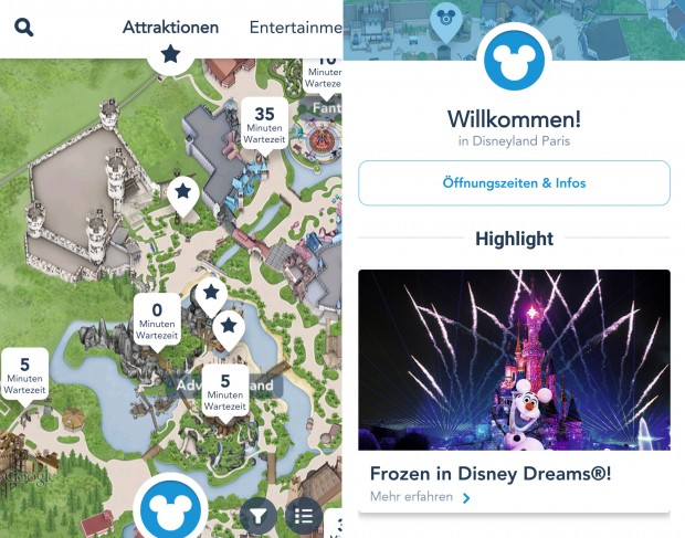 Disneyland Paris App iOS Android Download