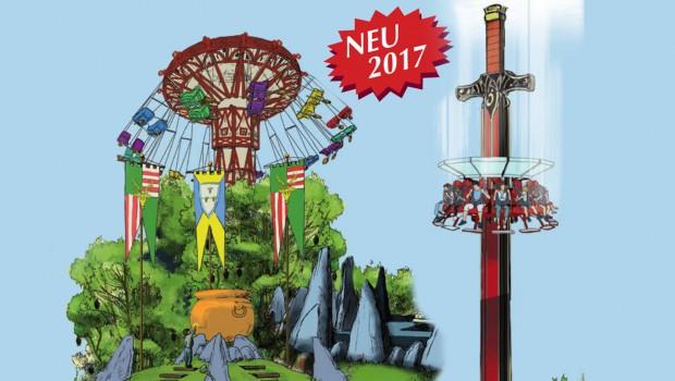 Erlebnisparjk Schloss Thurn 2017 - Neuheiten - Artwork