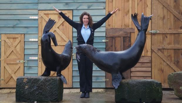 Erlebnistierpark Memleben Seebärenshow