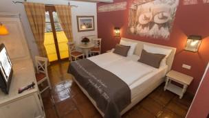 Europa-Park Hotel El Andaluz Zimmer mit Boxspringbett