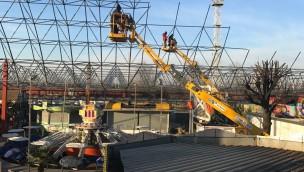 EuroPark Milano überdacht 7.000 Quadratmeter für wetterunabhängigen Betrieb