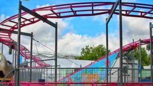 Freizeit-Land Geiselwind 2017 mit neuer Familien-Achterbahn