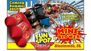 Fun Spot America Kissimmee Mine Blower Artwork