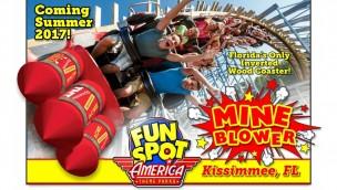 Fun Spot America in Kissimmee gibt Holzachterbahn-Neuheit für 2017 einen Namen