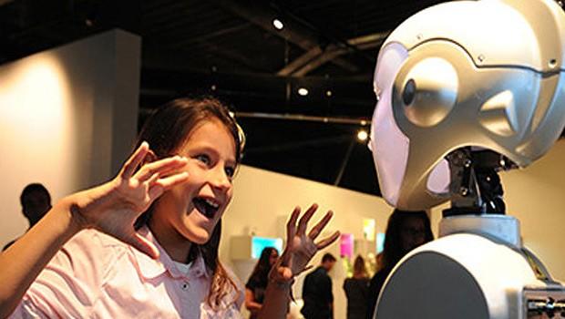 Futuroscope Technologie Roboter Spiel