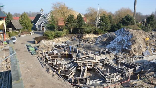 Gold Rush Slagharen Baustelle Februar 2017 - 3