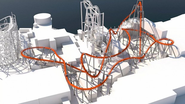 Grona Lund Bolliger & Mabillard odwrócony Coaster Coaster 2020 Ogłoszenie
