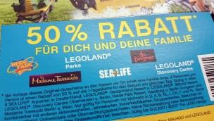 """""""Happy Meal""""-Gutschein 2017 für LEGOLAND, Heide Park & Co. jetzt bei McDonald's erhältlich"""