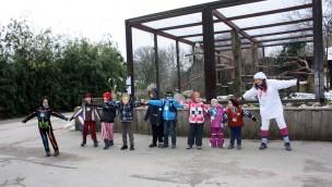 Faschingsferien 2017 im Heidelberger Zoo extra bunt und wild: Karneval und neue Workshops für Kinder