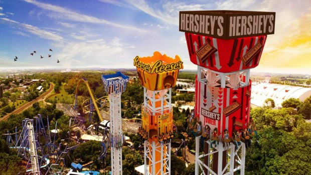 Hersheypark Tower Komplex