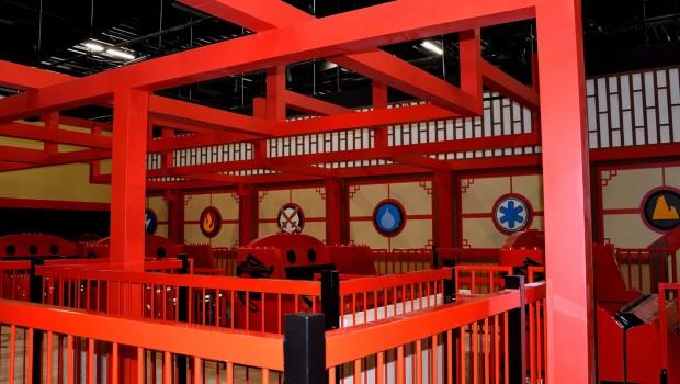 LEGO Ninjago The Ride in LEGOLAND Deutschland - Baustelle - Station