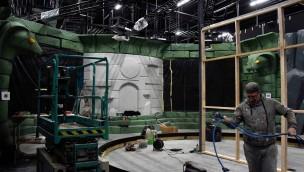 """""""LEGO Ninjago World""""-Baustelle im Blick: Innen-Ansicht der neuen Themenfahrt im LEGOLAND Deutschland"""