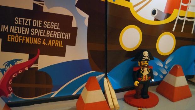LEGO Piraten-Bereich 2017 im LEGOLAND Discovery Centre Oberhausen Baustelle