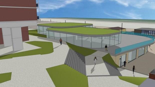 LEGOLAND Discovery Centre Den Haag Scheveningen Konzeptgrafik