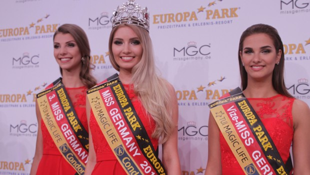 Miss Germany 2017 - Dritt- und Zweitplatzierte