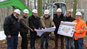 Nordamerika-Tierwelt Zoo Osnabrück Baubeginn