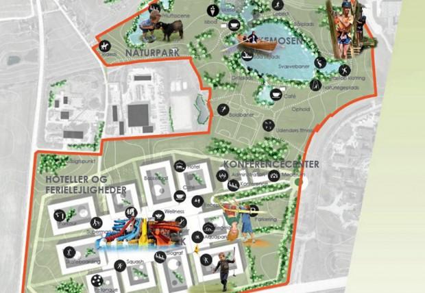 Nordic Water Universe Naturpark-Plan