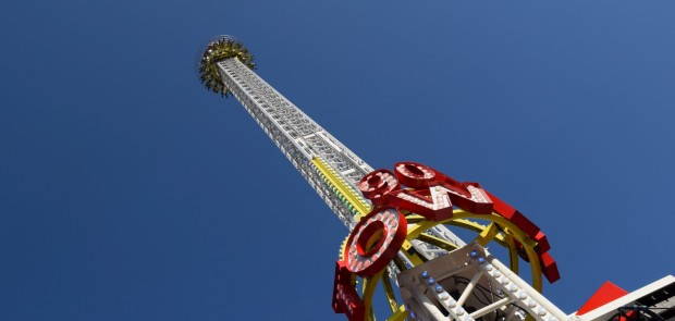 """90 Meter The Tower"" auf der Kirmes (Ordelman)"