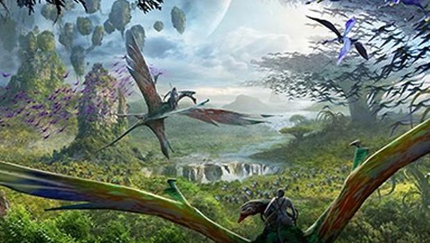 Pandora World of Avatar Flight of Passage Artwork Disney Animal Kingdom