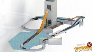 Parc Du Bocasse 2017 Neuheit Wildwasserbahn Rendering