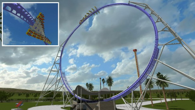 S&S Twisted Looper Konzept