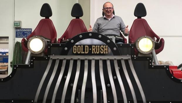 Slagharen Gold Rush Zug Design Wouter Dekkers