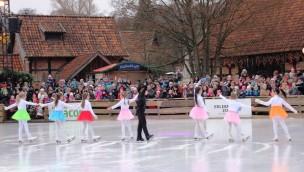 Winter-Zoo Hannover 2016/17 beendet: Eislauf-Show zum Abschied veranstaltet