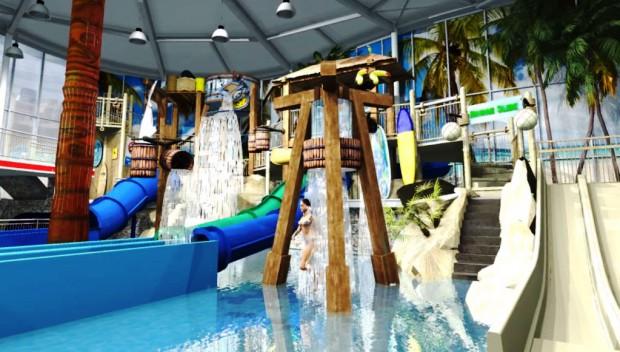 Duinrell Wasserspielplatz Playa Tikibad