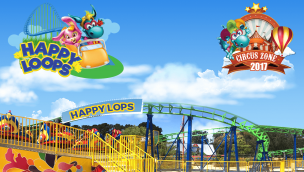 """EnergyLandia kündigt Spinning-Coaster """"Happy Loops"""" und Zirkus-Themenbereich """"Circus Zone"""" für 2017 an"""