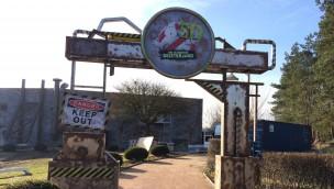 """""""Ghostbusters 5D""""-Baustelle im Blick: Heide Park zeigt erste Eindrücke zu Gestaltung von neuer Themenfahrt"""